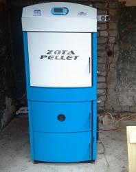 Твердотопливный котел ZOTA Pellet 63A